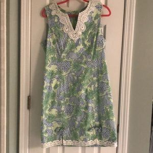 Lilly Pulitzer Dresses - Lilly Pulitzer seafood crab salad 10 shift